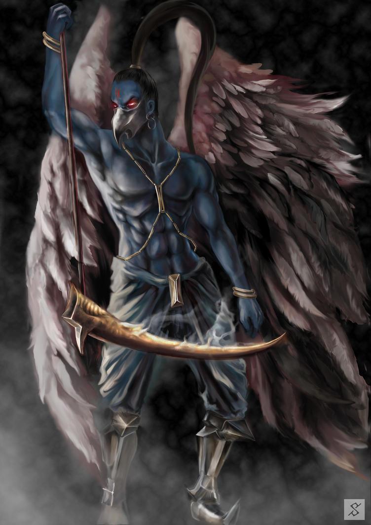 Kurogan clan Hawk Summons(WIP) Garuda_character_by_surasee-d31977q