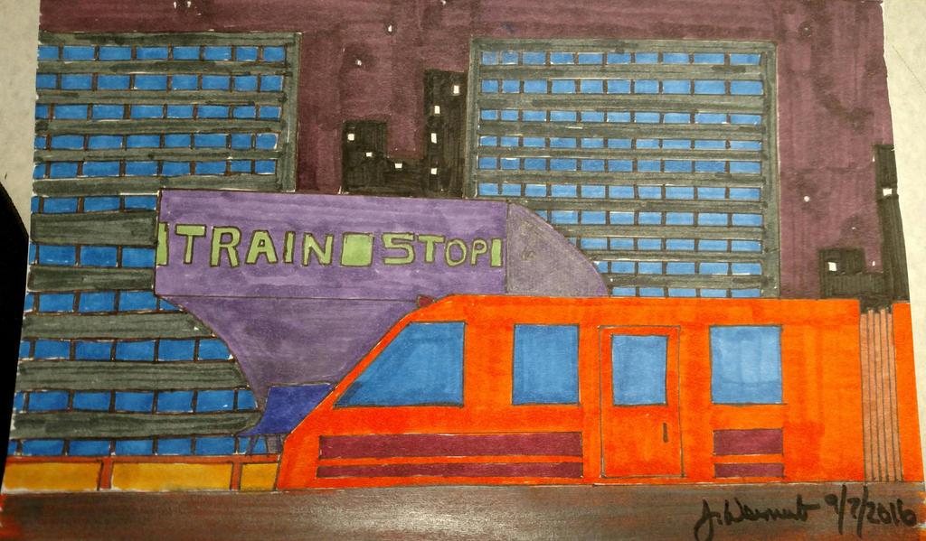Train Stop by jweinrub