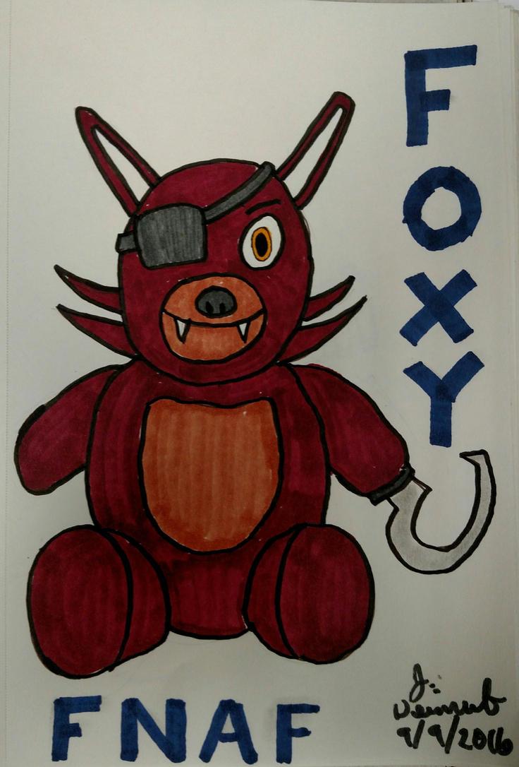 Foxy Fan Art # 2 by jweinrub