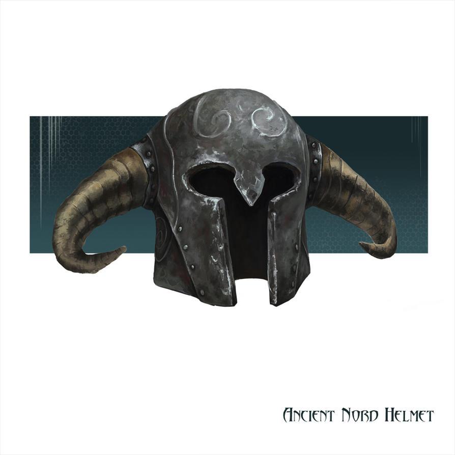 Skyrim Ancient Nord Helmet by darthMefisto
