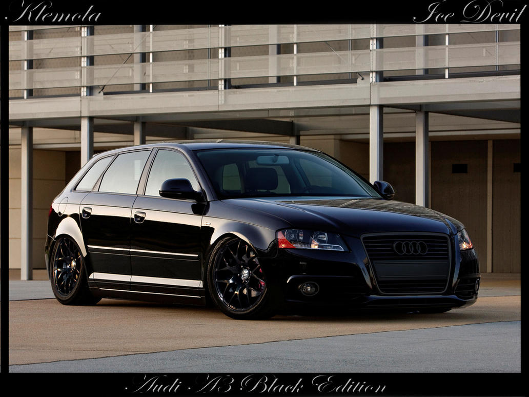 Audi A3 Black Edition By Klemola On DeviantArt