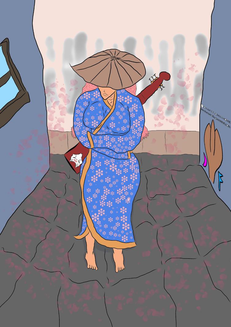 Kimono woman  by ALRUNASXHOT4U by ALRUNASXHOT4U