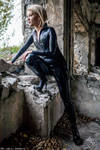 Nataly on the ruins 2