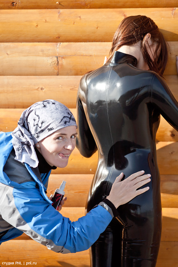 Polish a catsuit by pnlabs
