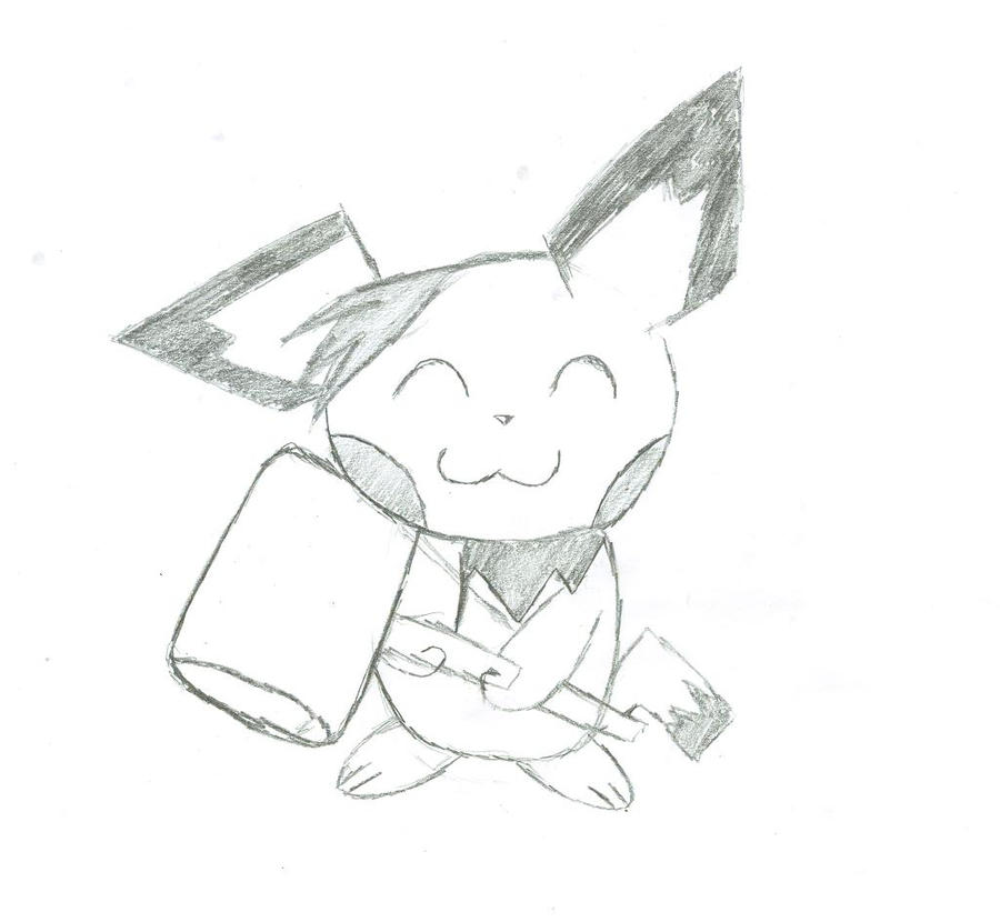 Zip Likes His Hammer by Pikacshu