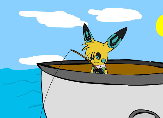 Fishing contest by Pikacshu