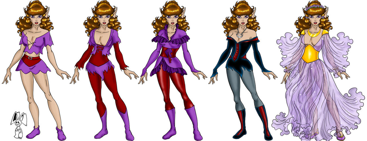 ElfQuest Moonshade by oldxer