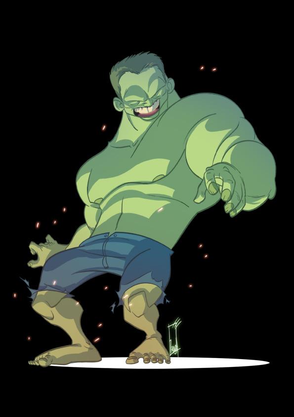 hulk+ by tanglong