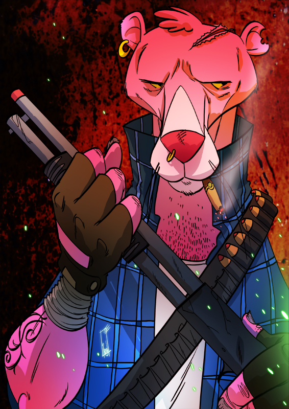 The Pink Hunter by tanglong