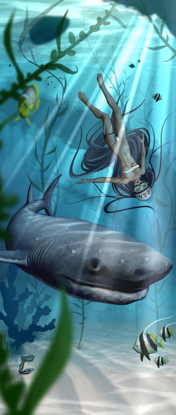 Ama Diver's Plight by mrpranny