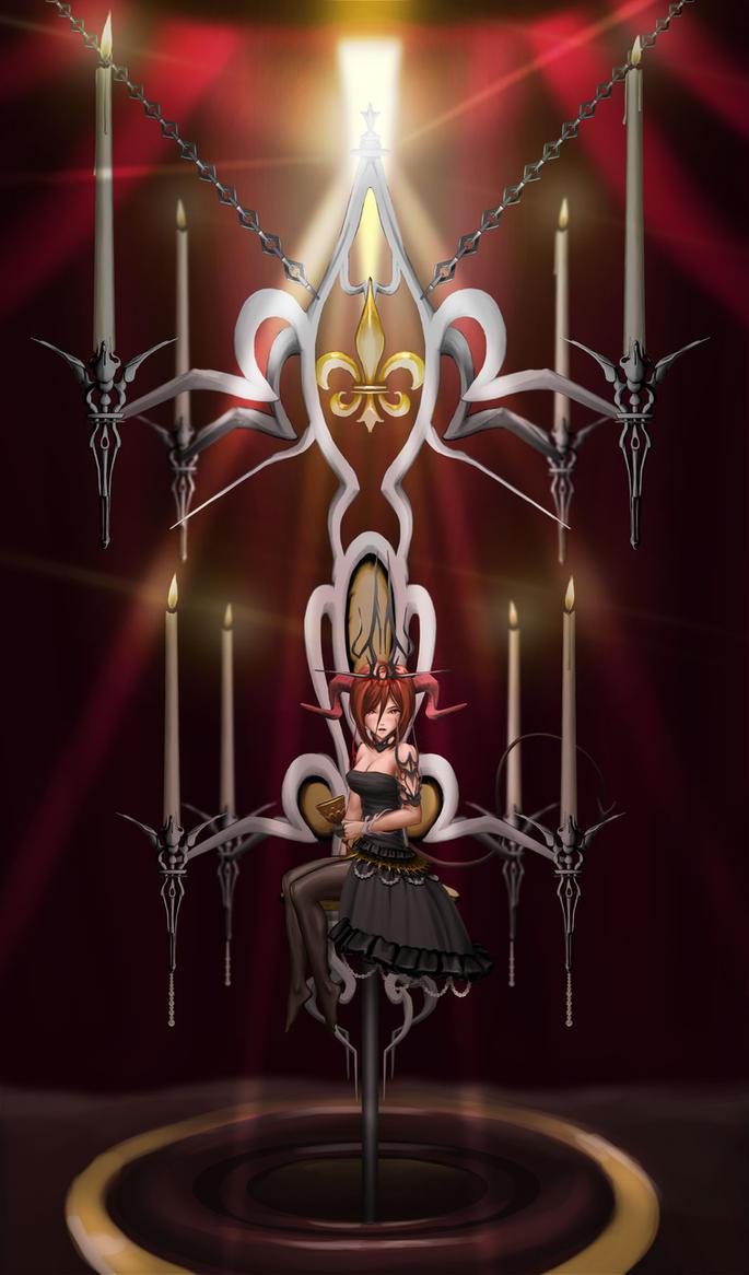 Kiwano's throne by mrpranny