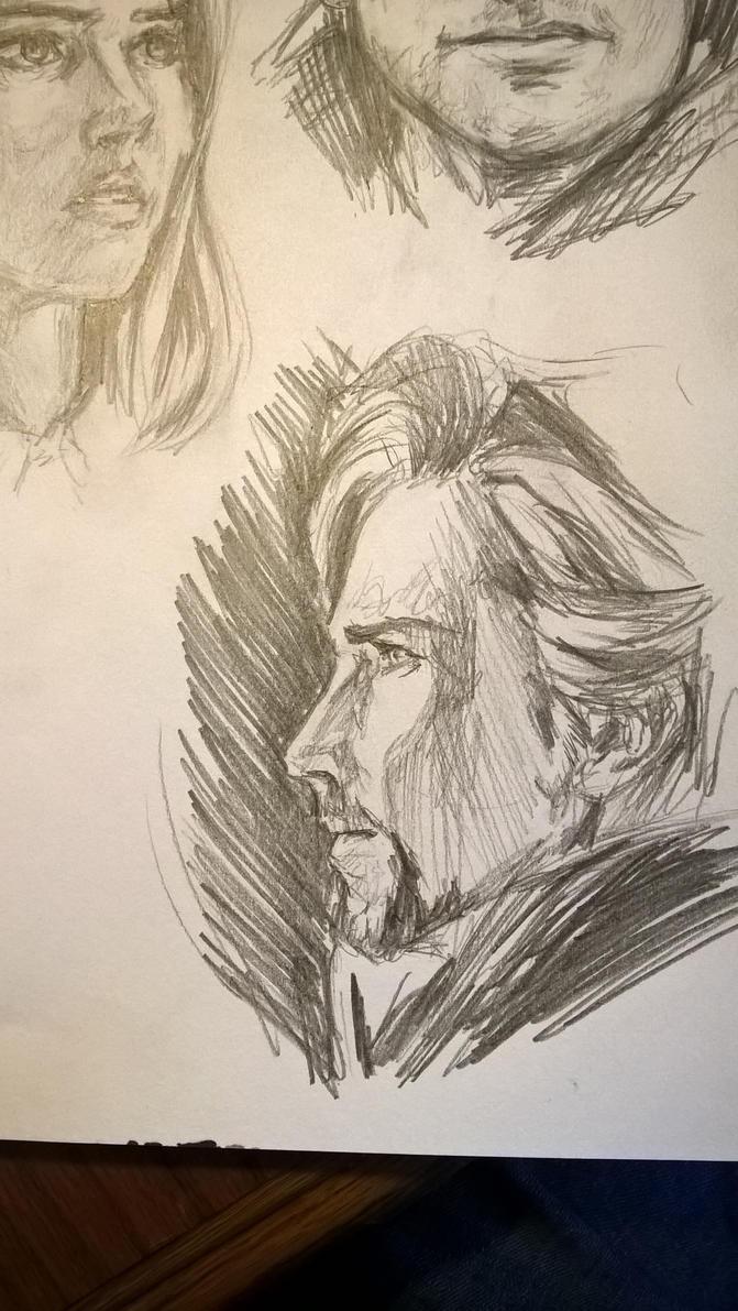 Doctor Strange sketch by Ashirogi28