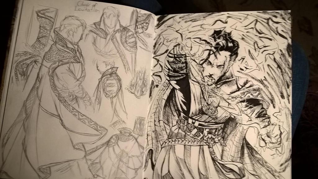 Doctor Strange, CoL study by Ashirogi28