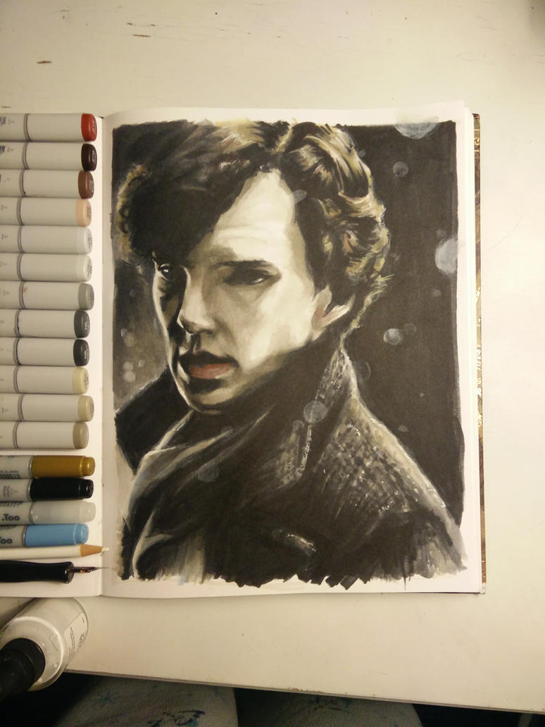 Sherlock Holmes by Ashirogi28
