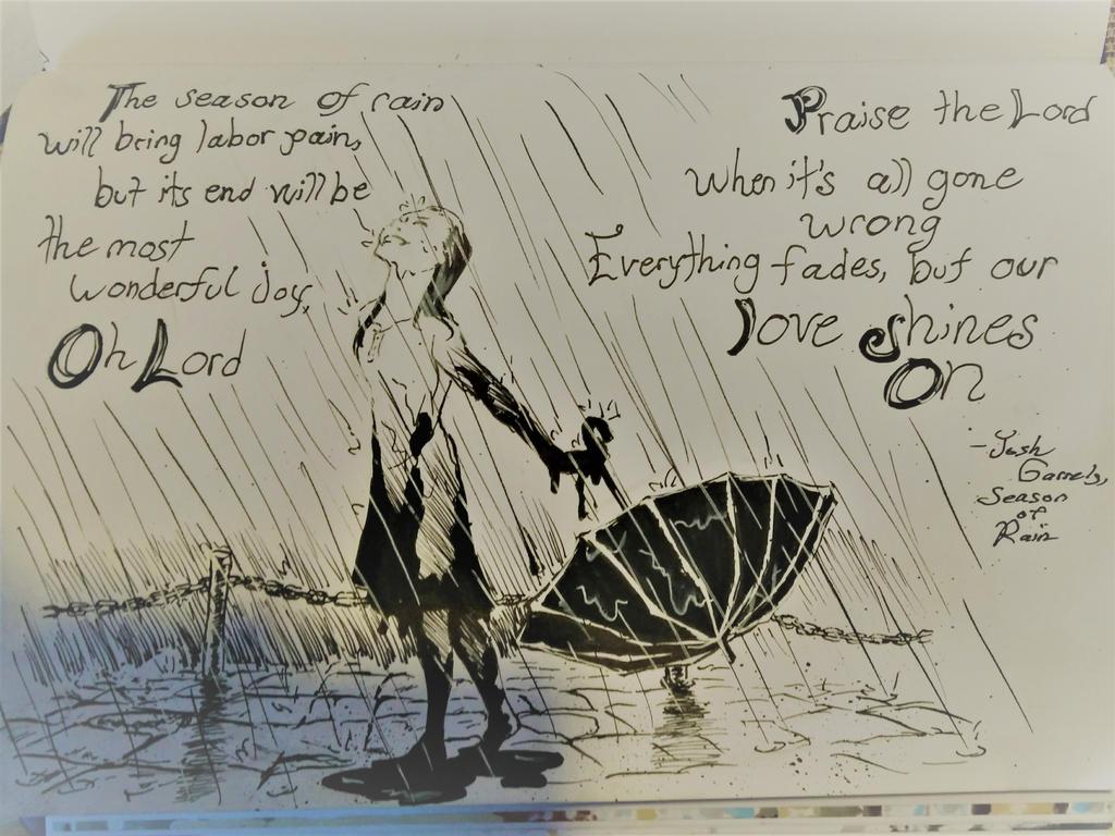 Season of Rain-Josh Garrels by Ashirogi28