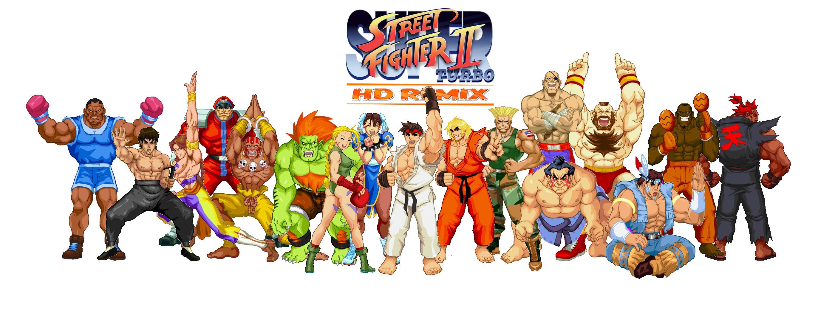 Super Street Fighter 2 turbo hd remix by juniorbunny