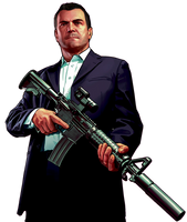 GTA 5 Michael by juniorbunny