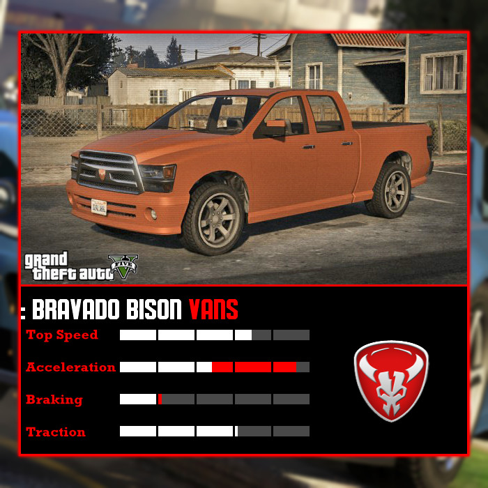 Bravado Bison Gta 5 Bravado Bison GTA V by