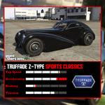 Truffade Z-Type GTA V