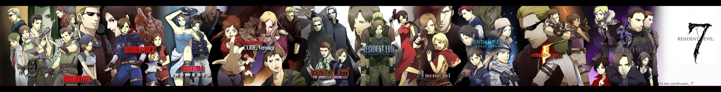 Resident Evil Anthology by juniorbunny