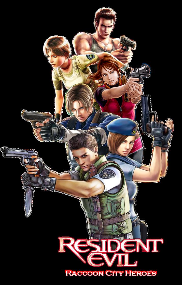 Resident Evil Raccoon City Heroes by juniorbunny