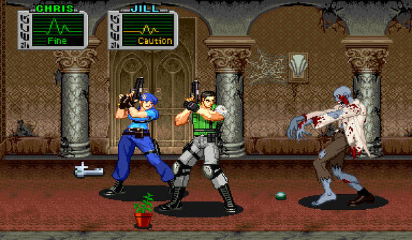 Resident Evil CPS2 ZOOM X2
