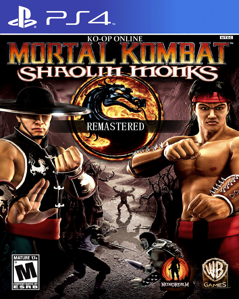 mortal kombat shaolin monks remasteredjuniorbunny on deviantart