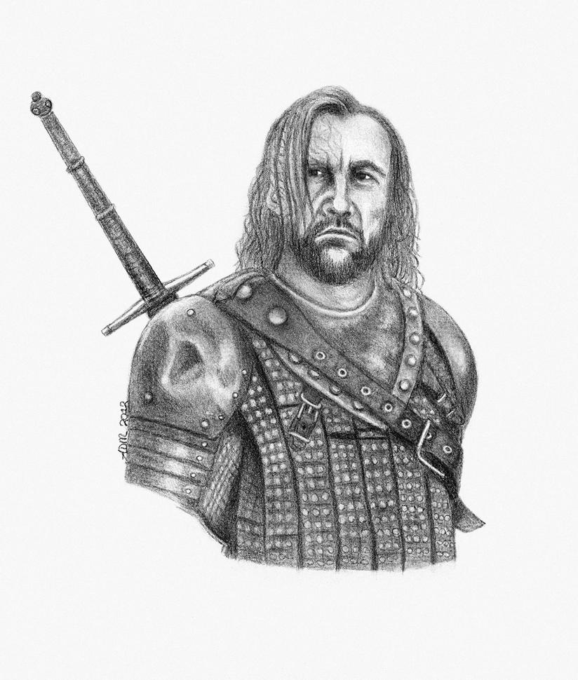 GoT- Sandor Clegane aka 'the Hound' by badlilmunkee