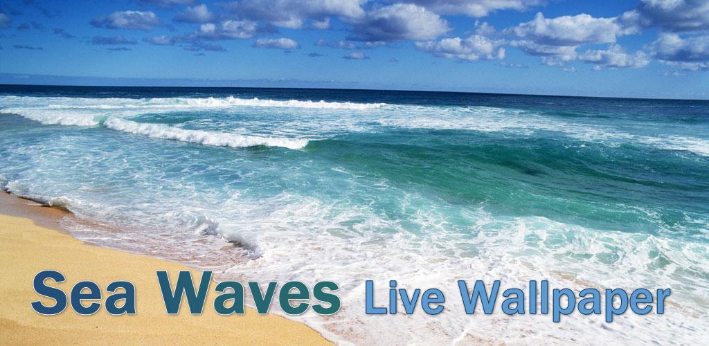 pin sea waves wallpaper - photo #20