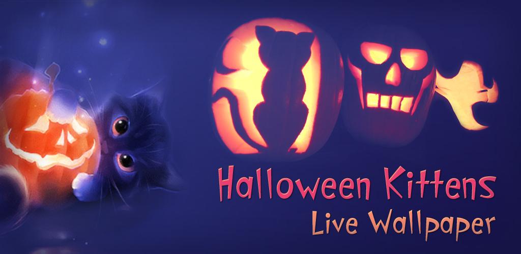 halloween kittens live wallpaper by zharski on deviantart