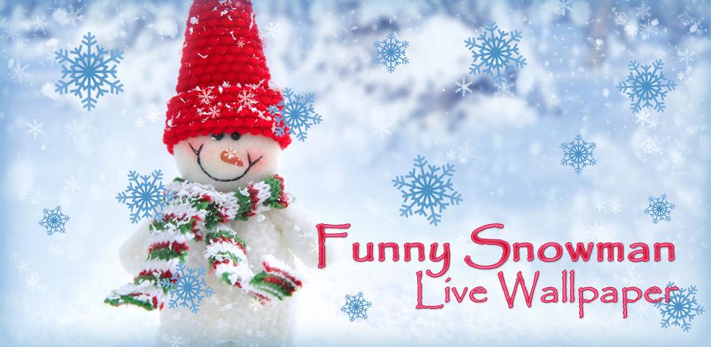 funny snowman live wallpaper by zharski on deviantart