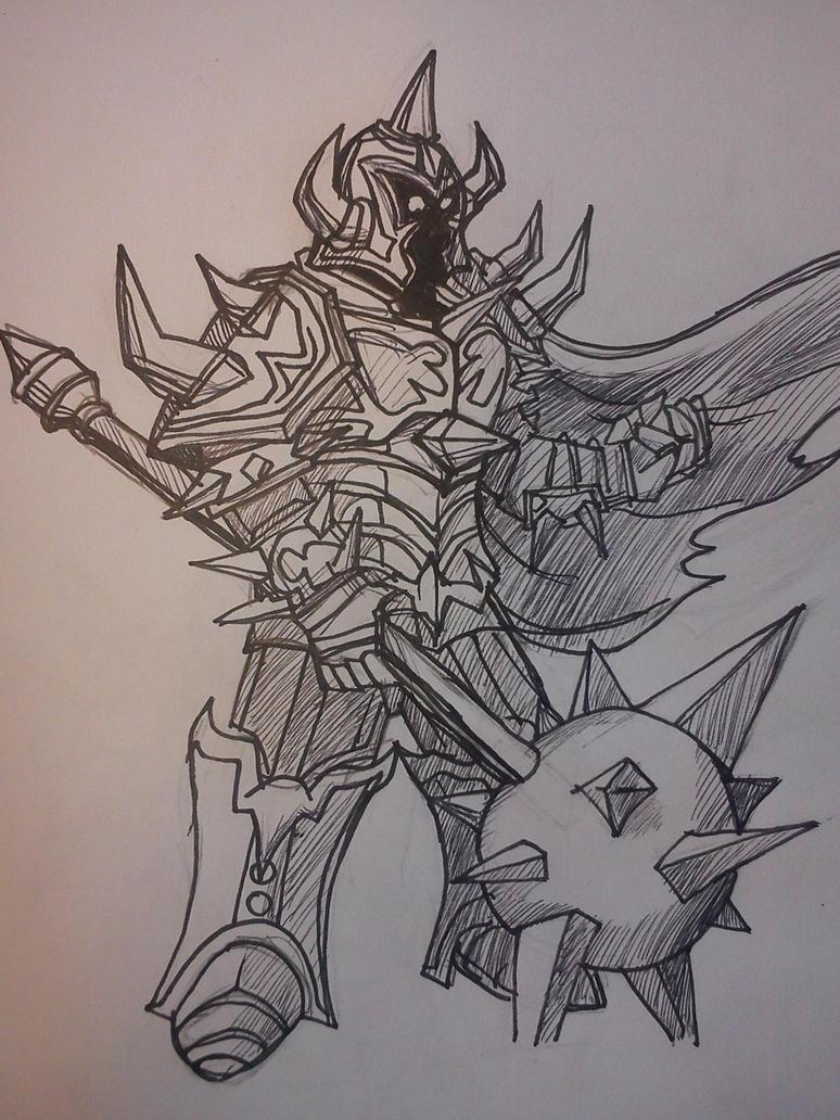 Mordekaiser League of legends by r0binjonsson