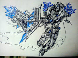 Taric league of legends by r0binjonsson