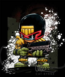 Judge Dredd - tshirts too by CatByrne