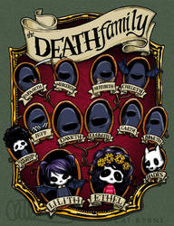 The Death Family Tree  by CatByrne