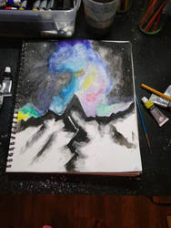 The mountains whisper...