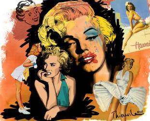 marylin Monroe by StoOF4ni