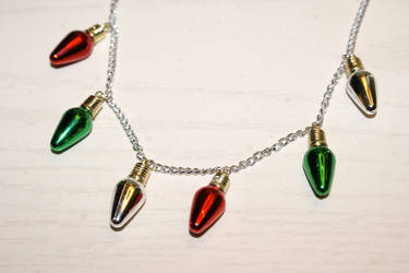 Christmas Necklace 1 by MonsterBrandCrafts
