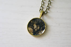 Ominous Branches Necklace by MonsterBrandCrafts