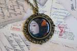 Goldfish Geisha Necklace