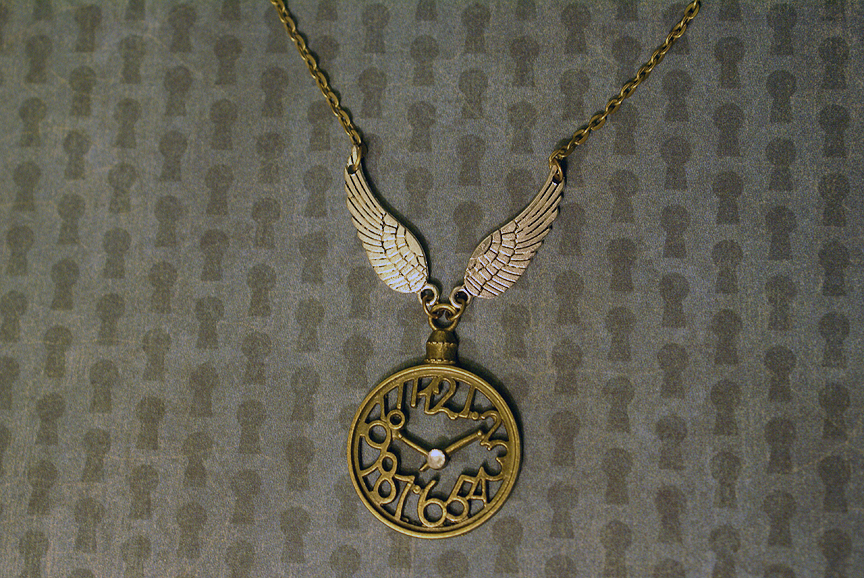 Steampunk Clockwork Necklace by MonsterBrandCrafts