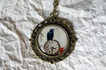 Poe's Pocket Watch - Necklace