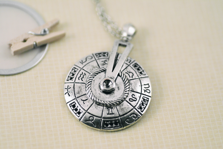 Astrology Necklace by foowahu-etsy