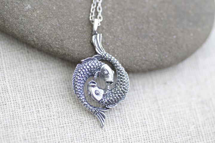 Pisces fish necklace by monsterbrandcrafts on deviantart pisces fish necklace by monsterbrandcrafts mozeypictures Choice Image