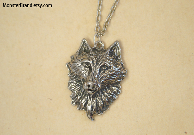 Wolf totem necklace - photo#5