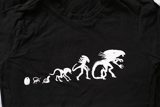 Shirt - Xenomorph Evolution by MonsterBrandCrafts on DeviantArt
