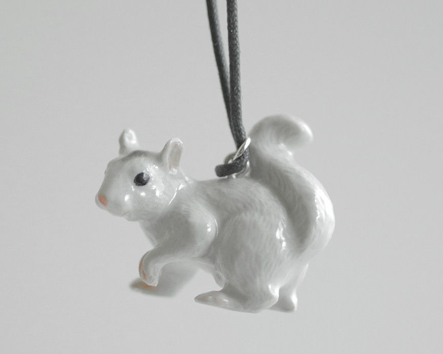 White Squirrel Christmas Ornament by MonsterBrandCrafts on DeviantArt