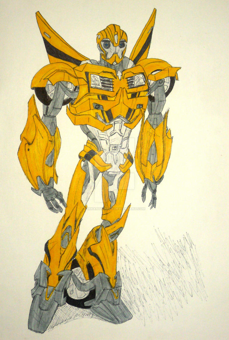 Transformers Prime: Bumblebee by InkArtWriter on DeviantArt