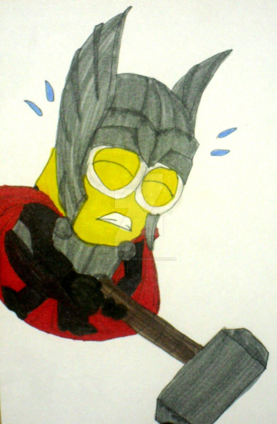 Thor Minion by InkArtWriter