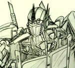 Quick Sketch: Optimus Prime